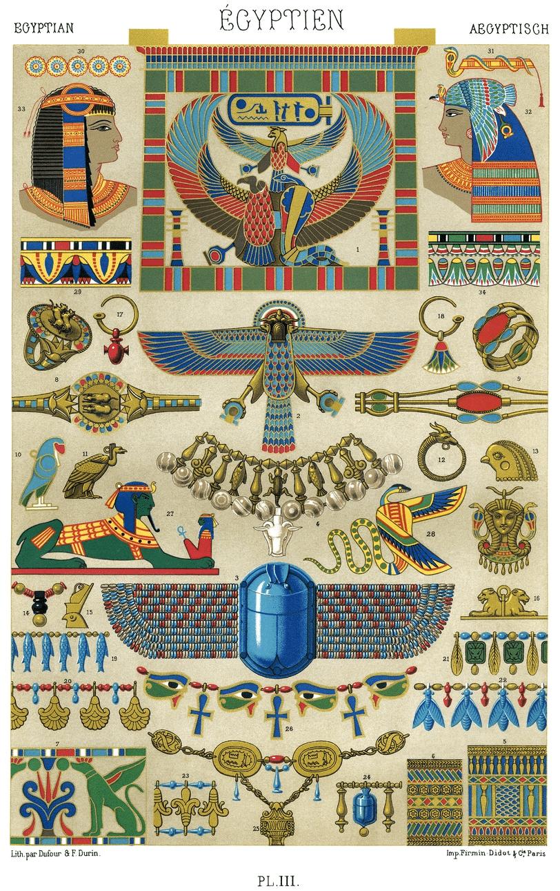 bijoux anciens tableau gravure