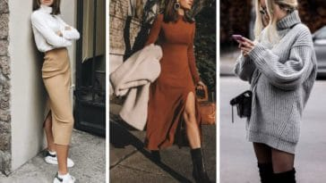 robes hiver inspiration jupes