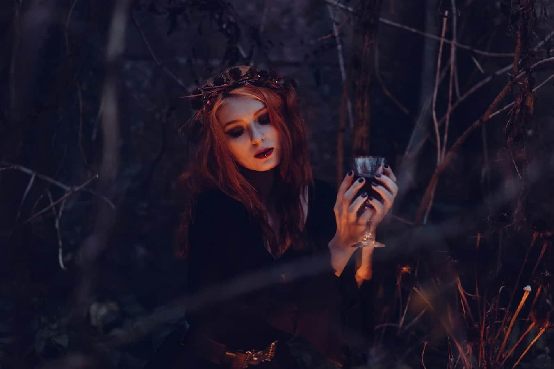 sorcière Halloween sorcières bougie