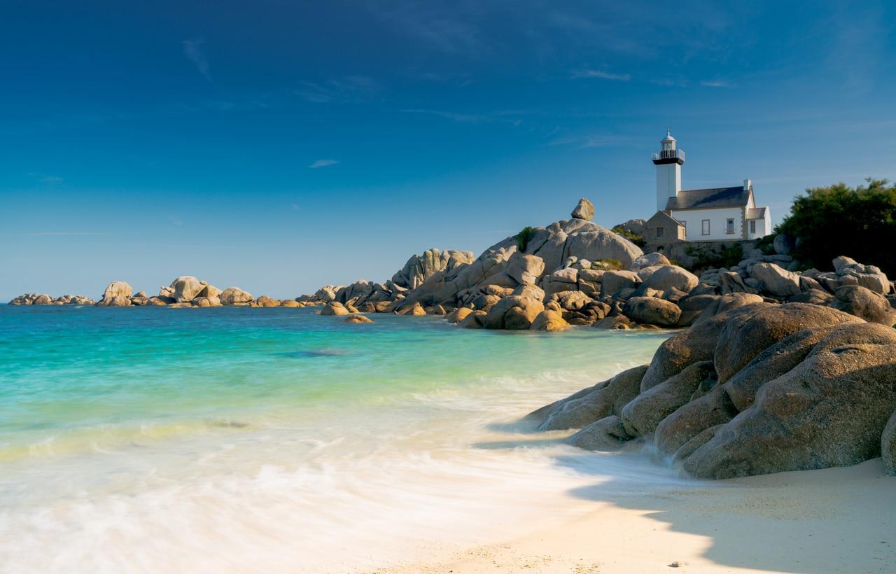 cote bretonne Bretagne spas France plage mer vacances océan