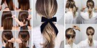 cheveux queues de cheval originales coiffures