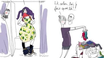 dessins mode illustrations humour