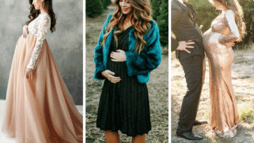 robes de grossesse fête Noël femmes enceintes