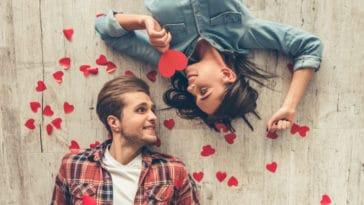 couple coeurs saint Valentin cadeau