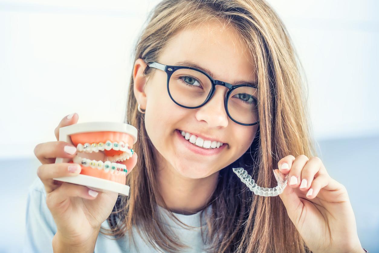 soins dents orthodontie bagues ado gouttière