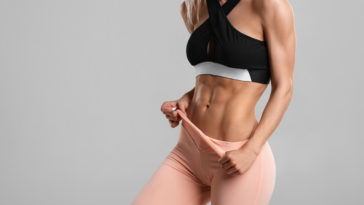 Fitness femme abdos ventre muscles musculation sports