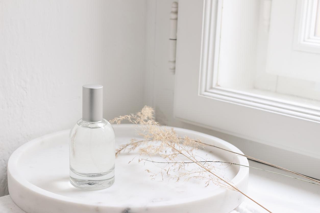 flacon de parfum nature vegan