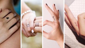 tatouages doigts inspirations idées tatouer
