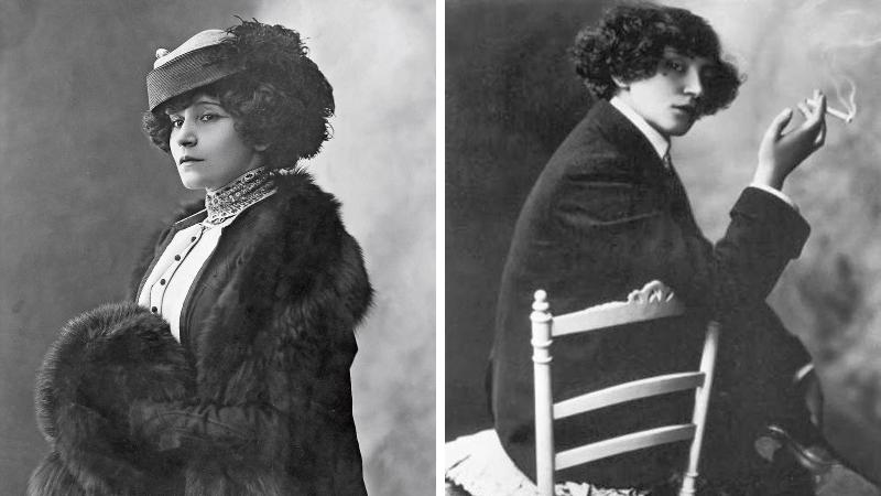 Colette photos archives femme écrivaine féministe bi