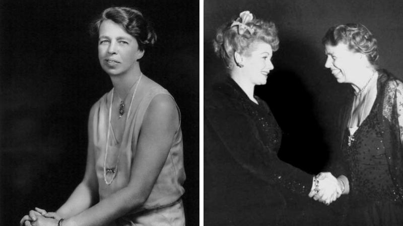 Eleanor Roosevelt célébrités femmes homosexuelles ou bisexuelles