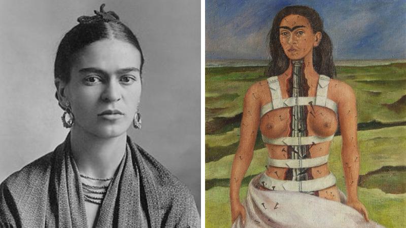 frida khalo peintre peinture femme bisexuelle