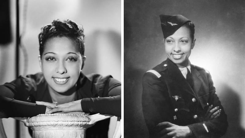 Josephine Baker profil photos archives
