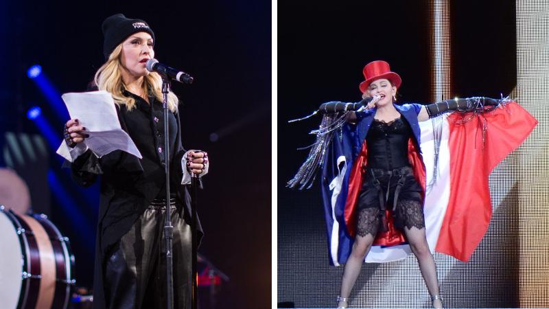 Madonna chanteuse star bisexuelle droits LGBT
