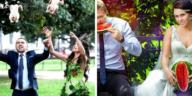 pires photos de mariage bizarres étranges