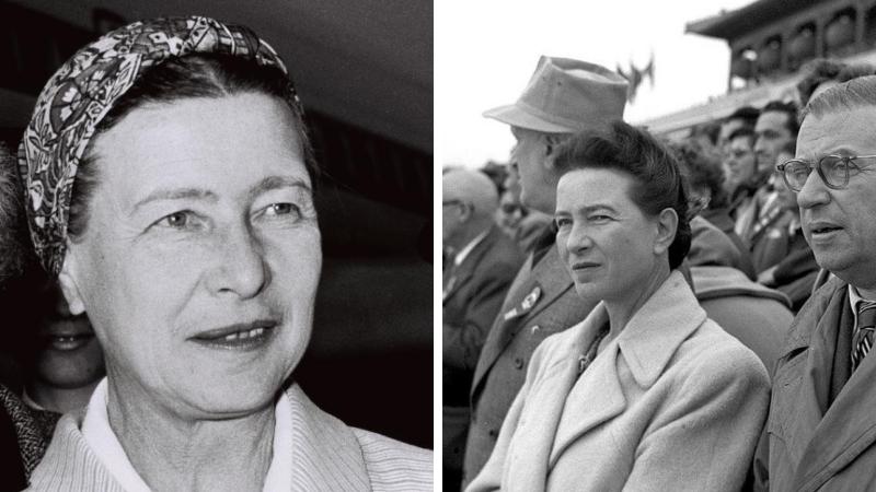 Simone de Beauvoir Jean Paul Sartre couple bisexuelle femmes homosexuelles