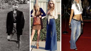 mode annees a travers les âges féminine