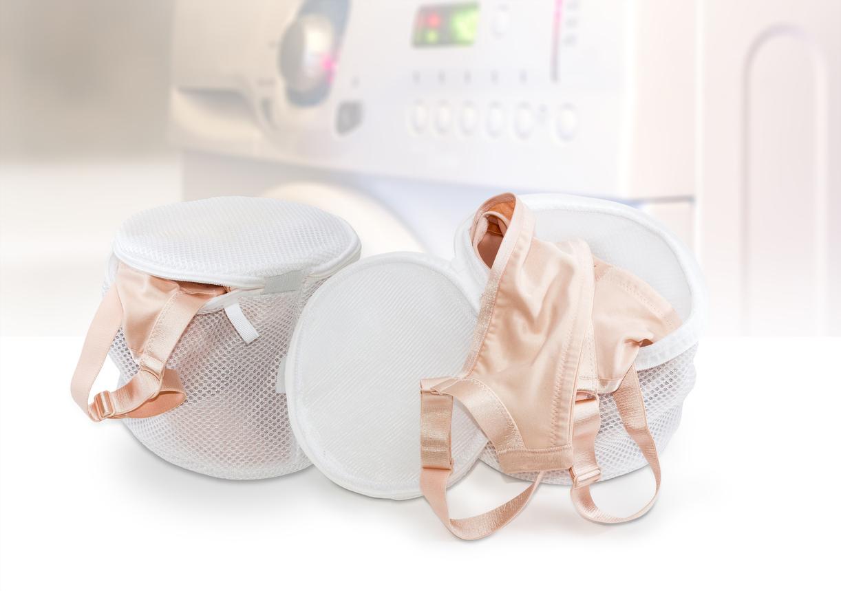 sous vêtements lavage en machine laver soutien gorge satin pochette machine