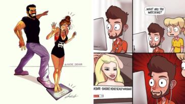 vie en couple dessins humour illustrations