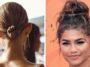chignons faciles coiffure inspiration