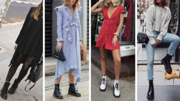 mode look dr martens bottines chaussures