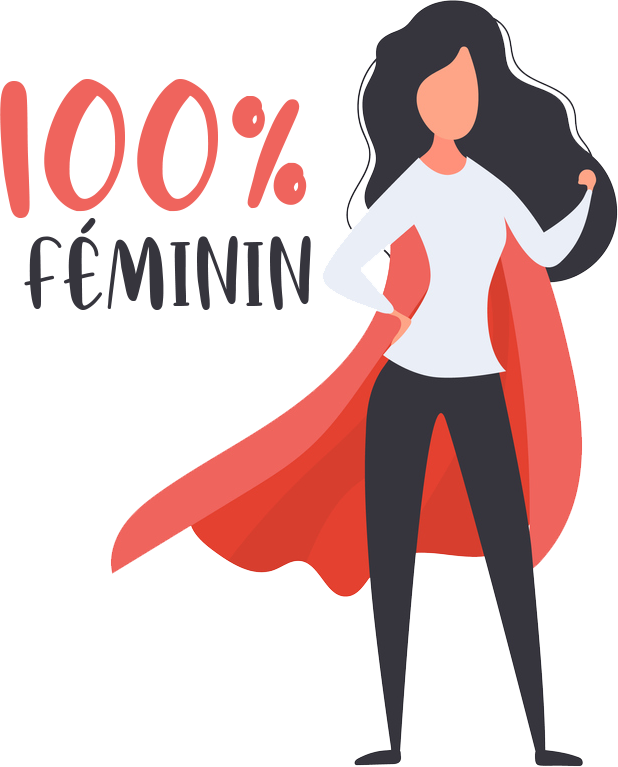 logo 100feminin