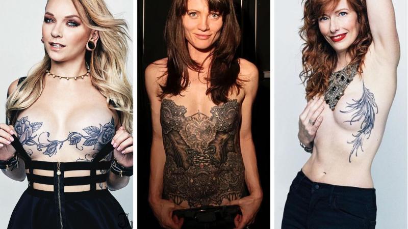 cancer sein tatouages mammaires mastectomie idées poitrine
