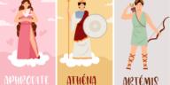 déesse grecque Artémis Athéna Aphrodite test