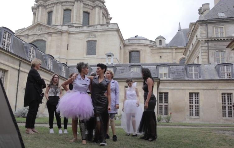 défilé mode femmes amputées Paris