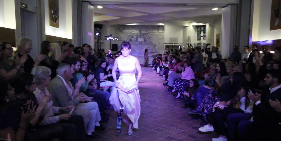 défilé mode femme amputées fashion week